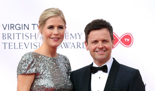 Declan Donnelly and Ali Astall attending the Virgin TV British Academy Television Awards 2018 held at the Royal Festival Hall, Southbank Centre, London. PRESS ASSOCIATION Photo. Picture date: Sunday May 13, 2018. See PA story SHOWBIZ Bafta. Photo credit should read: Isabel Infantes/PA Wire