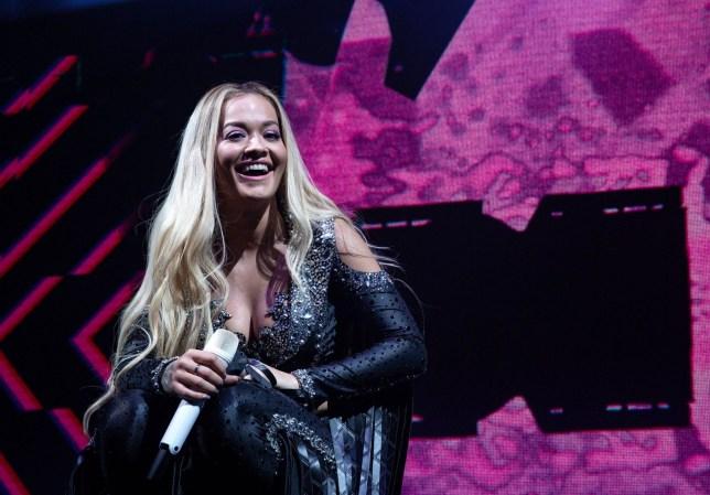 Mandatory Credit: Photo by David Wala/REX/Shutterstock (9670849x) Rita Ora Rita Ora in concert, O2 Academy, Newcastle, UK - 13 May 2018