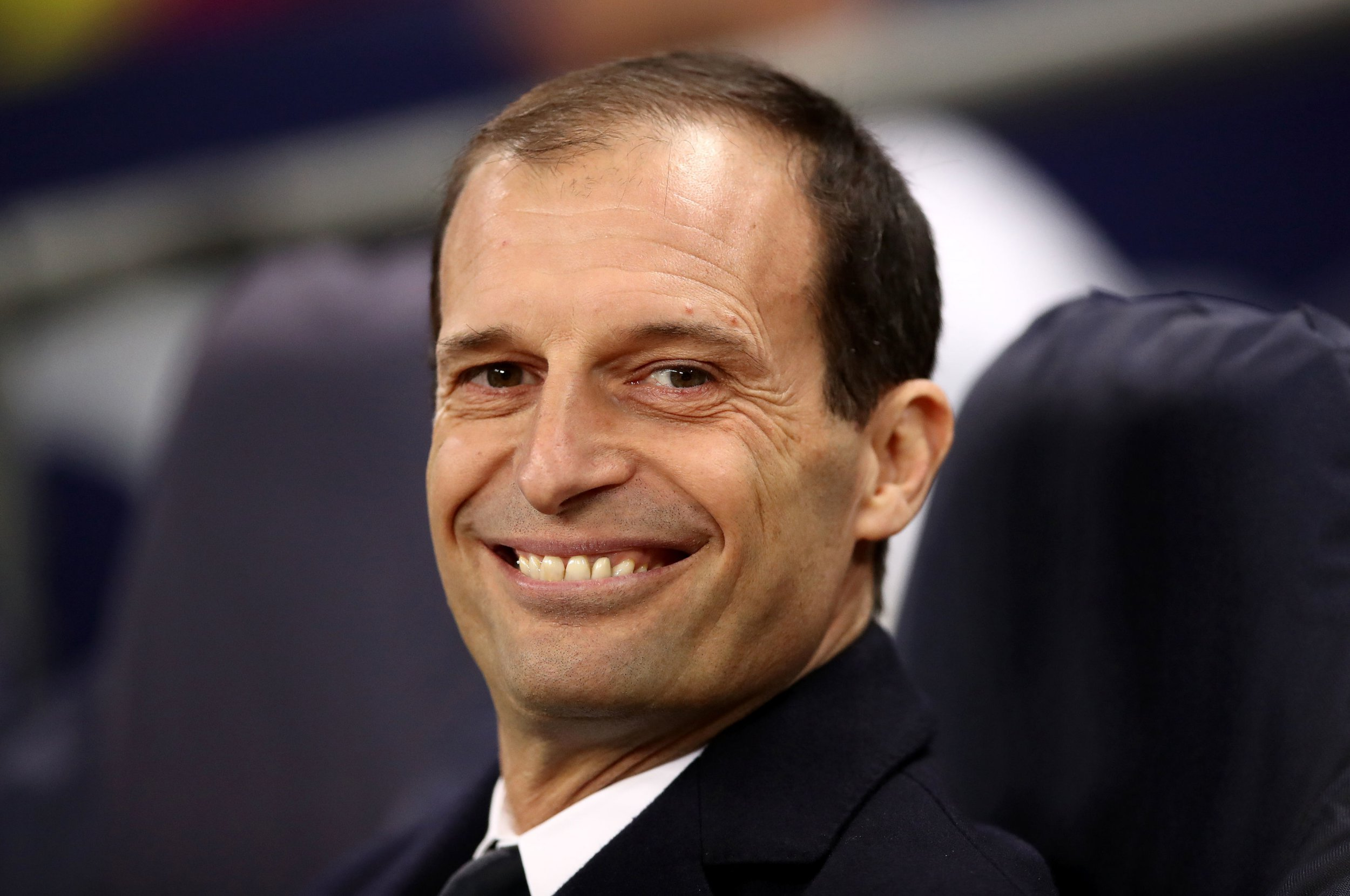 File photo dated 07-03-2018 of Juventus manager Massimiliano Allegri. PRESS ASSOCIATION Photo. Issue date: Tuesday May 15, 2018. Juventus are optimistic of keeping hold of coach Massimiliano Allegri as rumours he will replace Arsene Wenger at Arsenal cool. See PA story SOCCER Arsenal. Photo credit should read John Walton/PA Wire