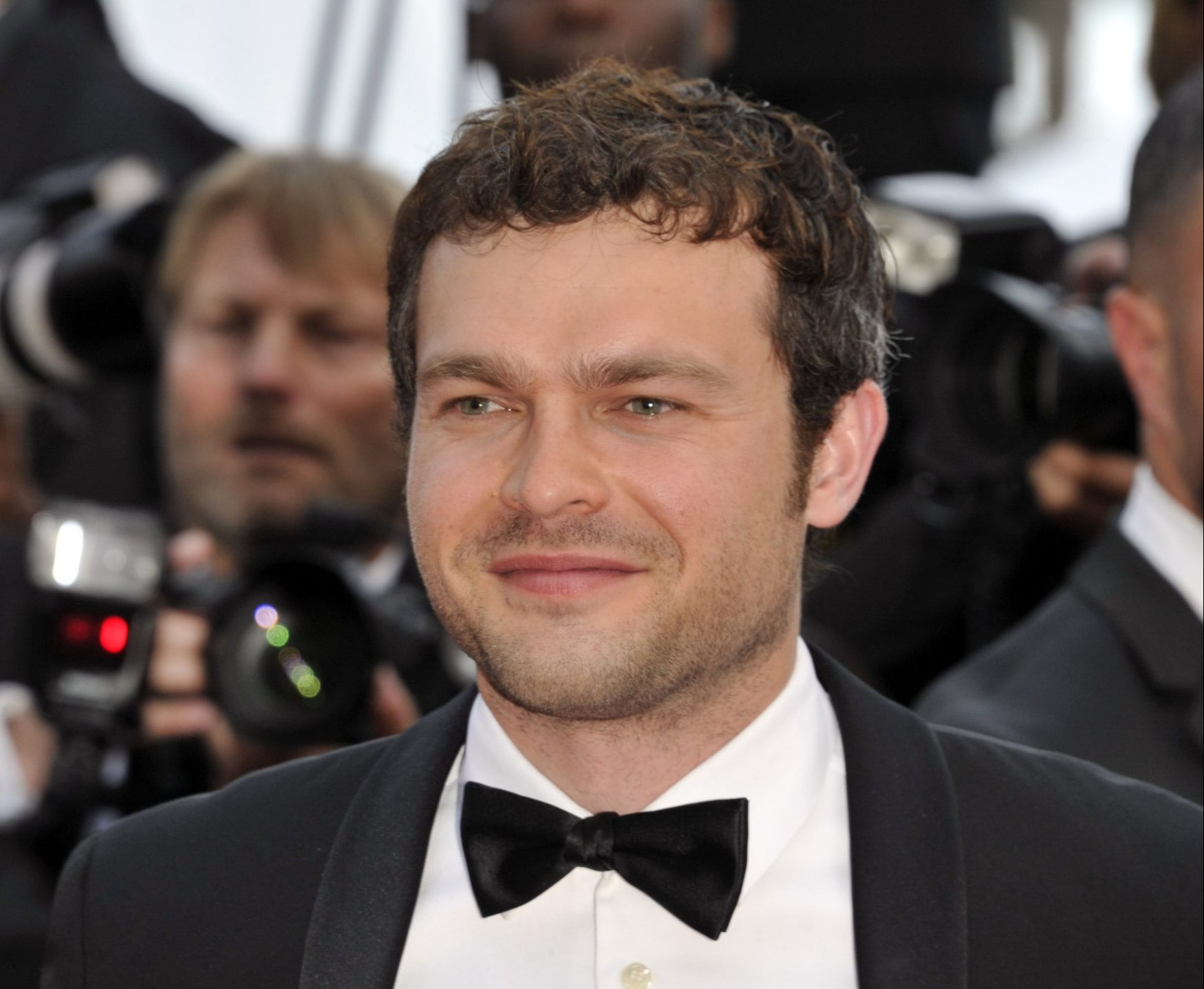 "71st Cannes Film Festival 2018, Red carpet film ""'Solo A Star Wars Story '"". 15 May 2018 Pictured: 71st Cannes Film Festival 2018, Red carpet film ""'Solo A Star Wars Story '"" Alden Ehrenreich. Photo credit: Pongo / MEGA TheMegaAgency.com +1 888 505 6342"