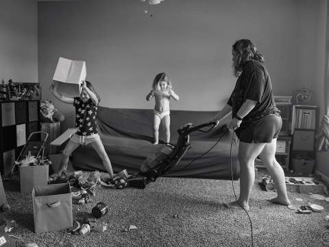 Mum shares honest photos to show what motherhood really looks like
