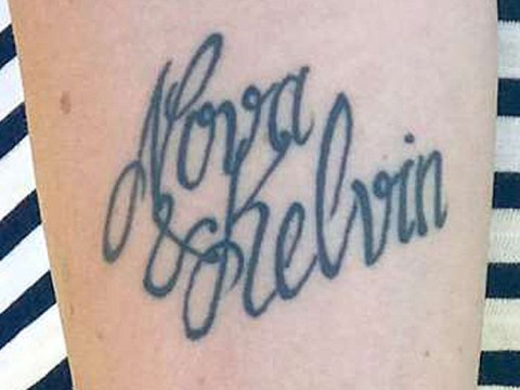 Mum changes son's name after tattoo artist spells his name wrong