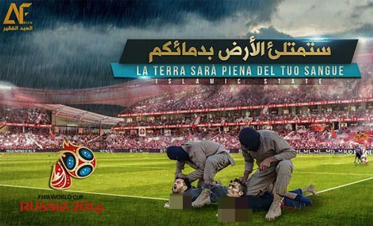 Isis behead Ronaldo in world cup vid Credit: SIXGILL