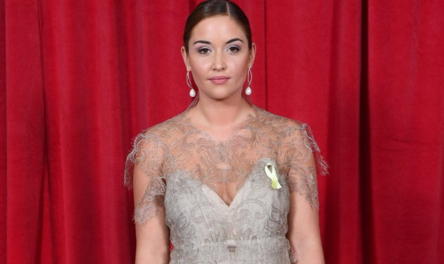 Mandatory Credit: Photo by David Fisher/REX/Shutterstock (8854307bd) Jacqueline Jossa The British Soap Awards, Arrivals, The Lowry, Manchester, Britain - 03 Jun 2017 WEARING MARCO & MARIA