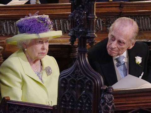 Prince Philip apparently had a cracked rib at the royal wedding