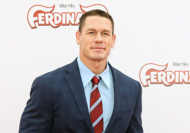 "LOS ANGELES, CA - DECEMBER 10: Actor John Cena attends the screening of ""Ferdinand"" at The Zanuck Theater at 20th Century Fox Lot on December 10, 2017 in Los Angeles, California. (Photo by Paul Archuleta/FilmMagic)"