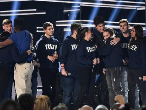 Shawn Mendes and Khalid give emotional Billboard Music Awards performance alongside Parkland survivors
