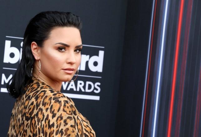 Mandatory Credit: Photo by Chelsea Lauren/REX/Shutterstock (9686411ka) Demi Lovato Billboard Music Awards, Arrivals, Las Vegas, USA - 20 May 2018