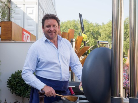 Self-conscious James Martin admits he lost a stone because HD cameras 'show everything'