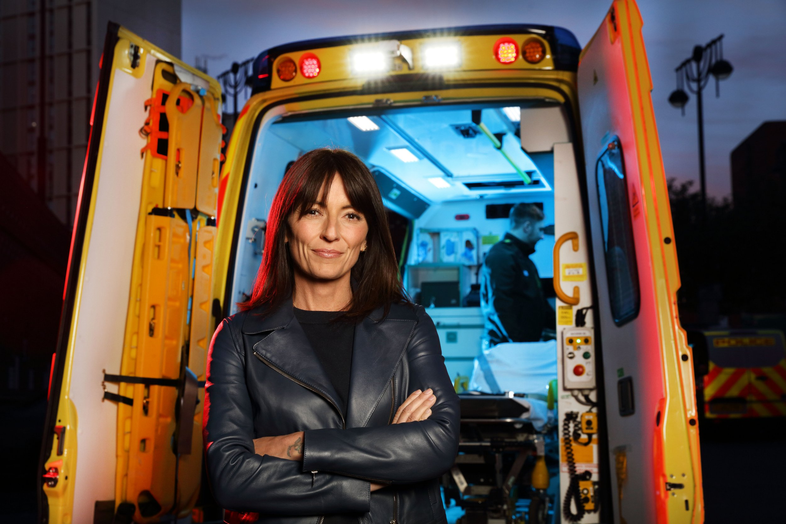 Davina McCall reveals she witnessed granny 'sever her toes' in horrific gardening accident – prompting a phobia of blood