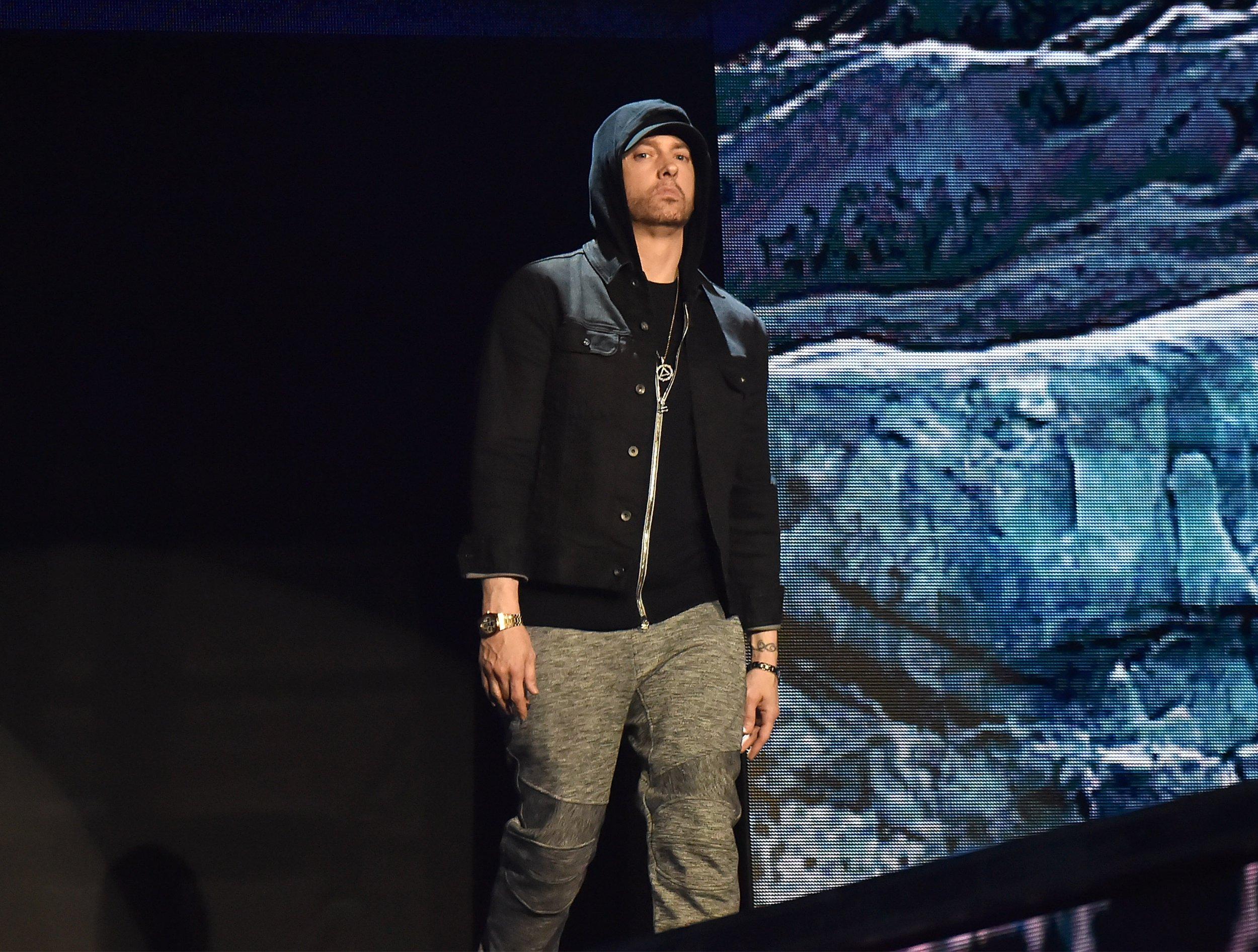 Eminem uses gunshot sounds during Bonnaroo gig leaving fans screaming and 'traumatised'