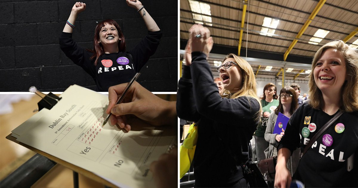 History made as Ireland votes to legalise abortion in landslide victory