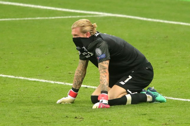 KIEV, UKRAINE - MAY 26: Loris Karius of Liverpool looks dejected following his sides defeat in the UEFA Champions League Final between Real Madrid and Liverpool at NSC Olimpiyskiy Stadium on May 26, 2018 in Kiev, Ukraine. (Photo by Alexander Hassenstein - UEFA/UEFA via Getty Images)