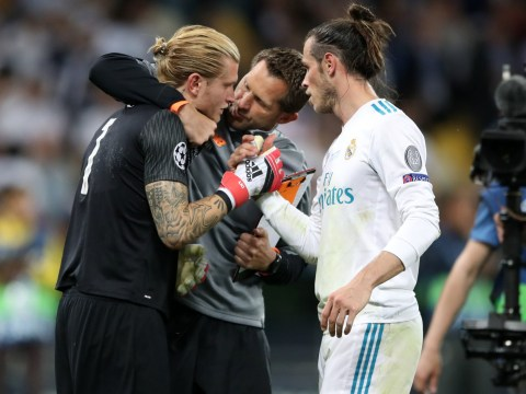 Gareth Bale told Loris Karius to 'keep his head up' after Champions League horror show