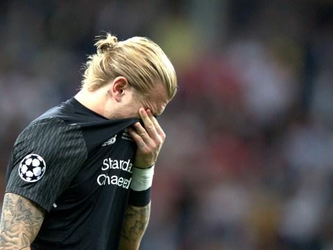 Liverpool goalkeeper Loris Karius undergoes scan following Sergio Ramos collision