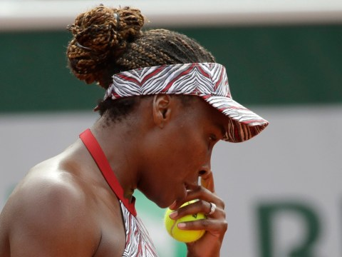 Venus Williams' miserable clay-court season ends with early French Open exit