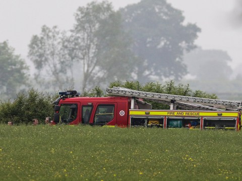 Pilot dies after helicopter crashes in field in North Yorkshire