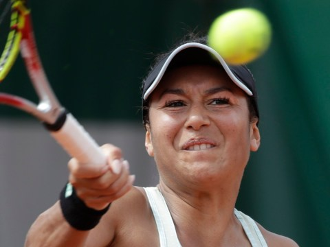 Heather Watson dumped out of the French Open by Elise Mertens