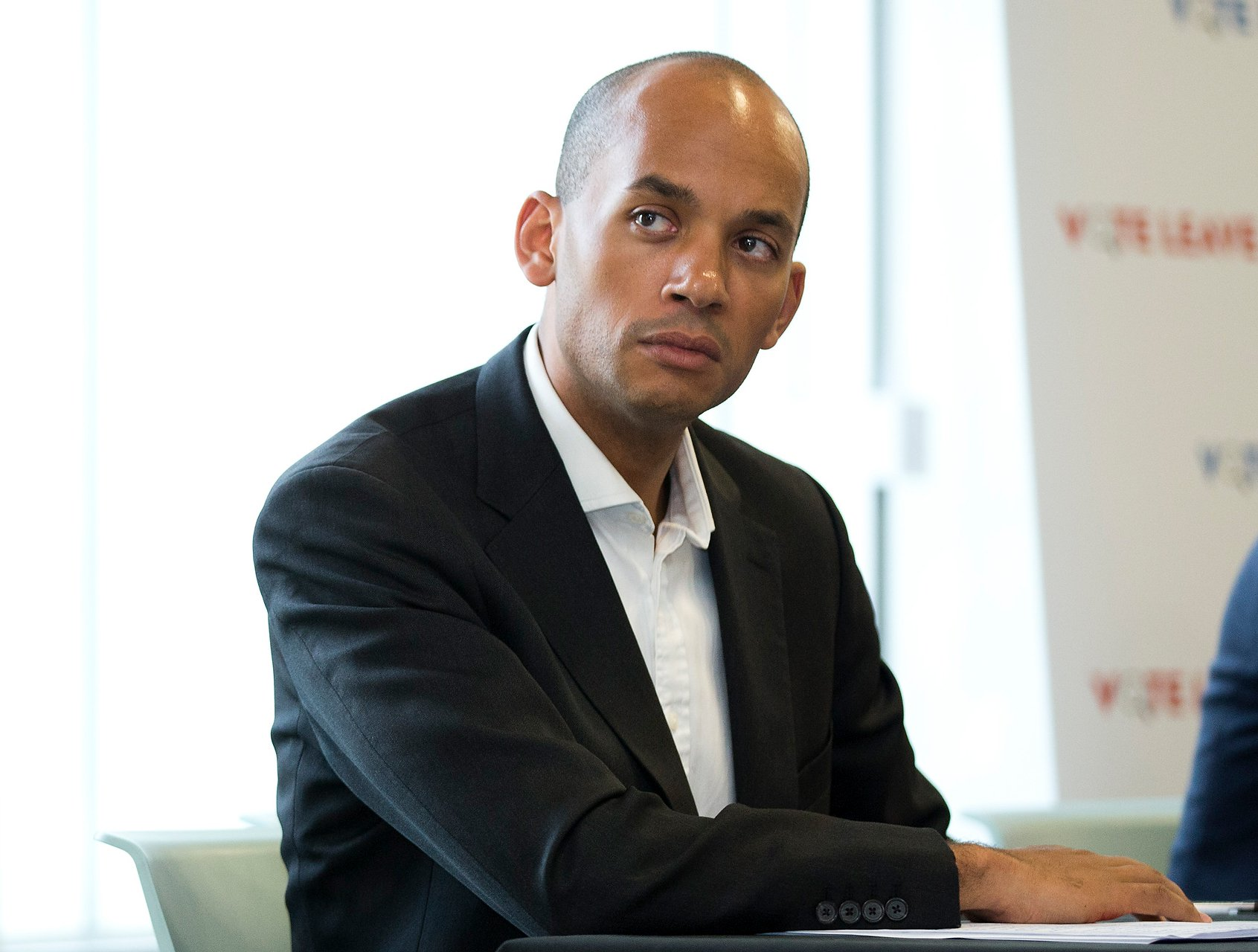 British Labour politician Chuka Umunna gives a speech at Vote Leave Watch event setting out Labour opposition to hard Brexit at The Impact Hub Westminster, London. Picture dated: Friday May 12, 2017. Photo credit should read: Isabel Infantes / EMPICS Entertainment.