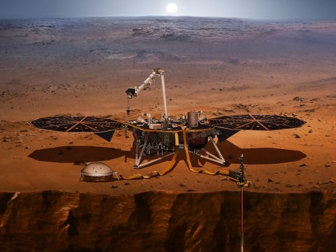 Nasa robot to drill deep inside Mars in quest to uncover secrets of 'mysterious' world