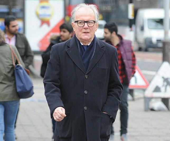 Pic shows Philip Saunders arriving at court. FILE PIC A top property solicitor who headbutted an EastEnders star's father during a ?100 million legal battle at the High Court was struck off today (MON). Philip Saunders, 69, was captured on CCTV at the Royal Courts of Justice lunging forward to hit Mohammad Reza Ghadami square on the nose. Mr Ghadami, father of Davood, who plays Kush in the BBC soap, was left with blood streaming down his face and had to be taken to hospital for surgery. SEE STORY CENTRAL NEWS. 020 72360116