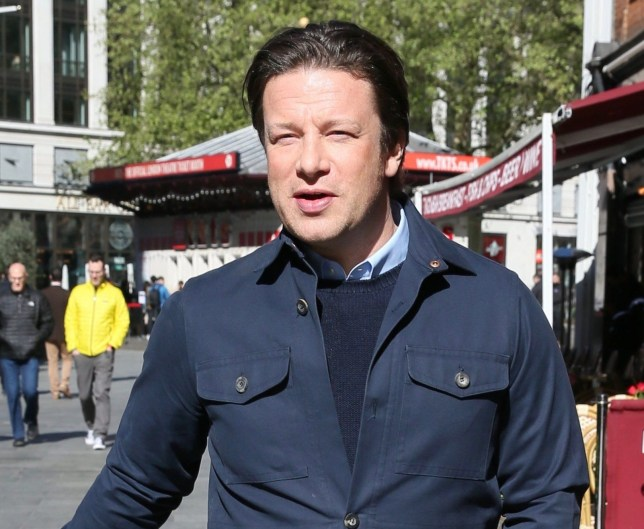 Jamie Oliver seen leaving Global studios after doing radio interivews Featuring: Jamie Oliver Where: London, United Kingdom When: 01 May 2018 Credit: Michael Wright/WENN.com