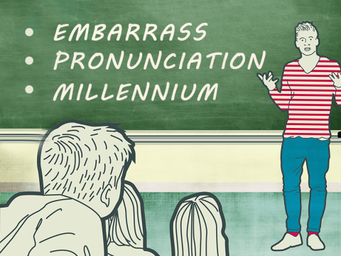 Can you spell these commonly misspelled words?