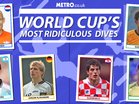 Faking it: the greatest dives in the history of the World Cup