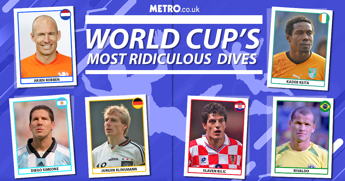 Most ridiculous World Cup dives (Andrew)