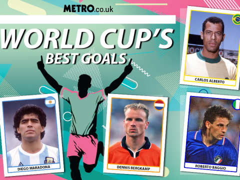 The greatest goals in the history of the World Cup