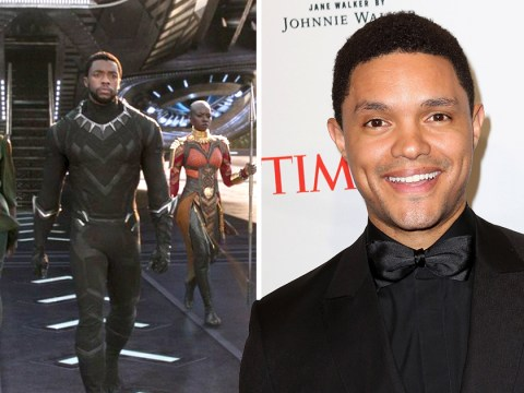 Trevor Noah made a blink and you'll miss it cameo in Black Panther and we bet you blinked and missed it