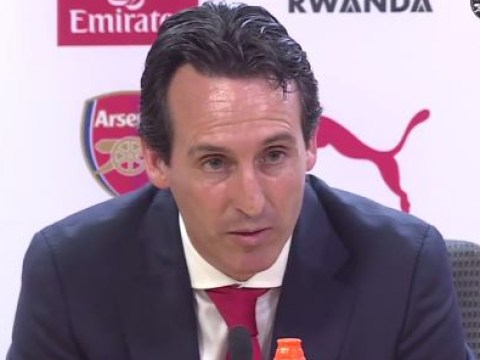 Unai Emery wants Arsenal to adopt a 'very intensive pressing' playing style