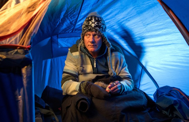Sean is homeless in Coronation Street
