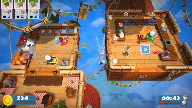 Overcooked! 2 - the fun is ballooning