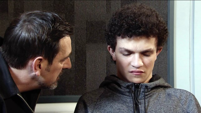 Simon Barlow in Coronation Street