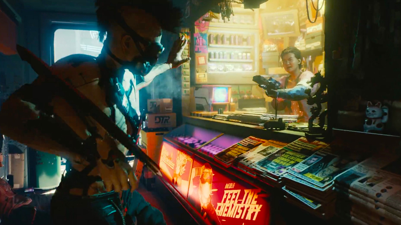 Cyberpunk 2077 - seeing is believing