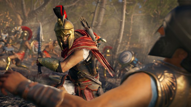 Assassin's Creed: Odyssey - it's got a lot of competition