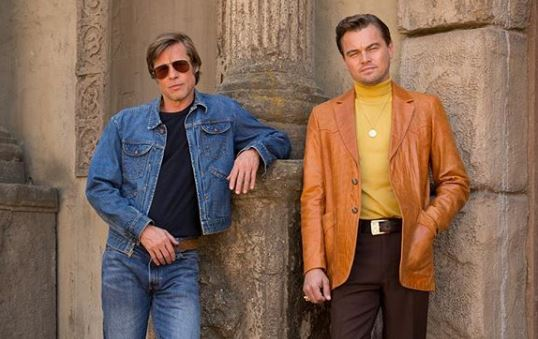 Who is in the Once Upon A Time In Hollywood cast and when is it released?