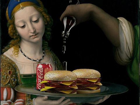 Artist Photoshops characters from famous paintings into modern surroundings