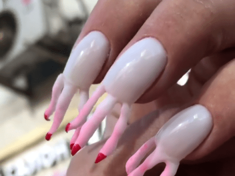 These nails have nails and it's freaking us out