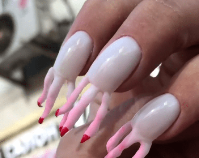 Cardi B S Nails: Nail Sunny Has Made Nails With Fingers Growing Out Of Them