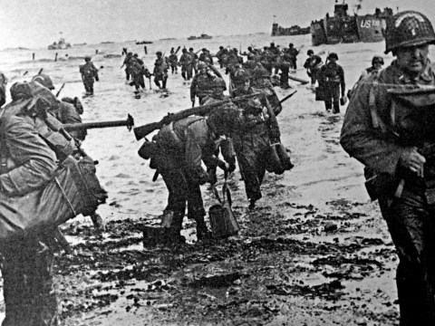 When were the D-Day Landings and which Normandy beaches did the Allies land on?