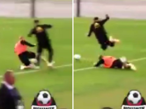 Kevin De Bruyne produces horror challenge on Adnan Januzaj in training – doesn't even apologise