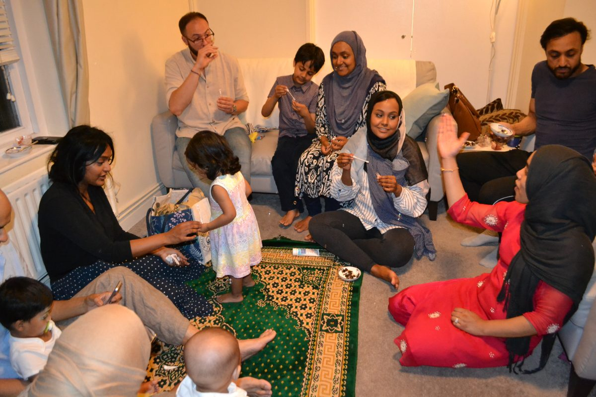 Muslims Who Fast: The Rouf family play Come Ramadine With Me
