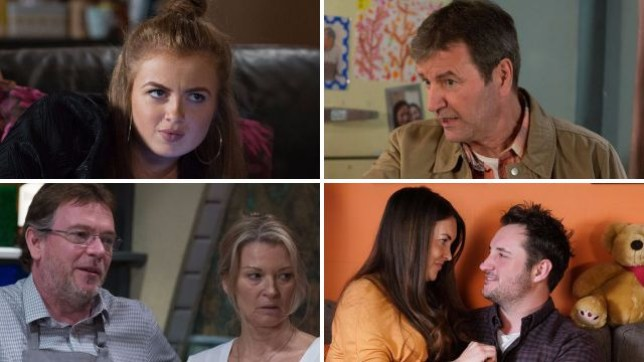 EastEnders pictures for Tiffany, Ollie, Ian, Kathy, Stacey and Martin