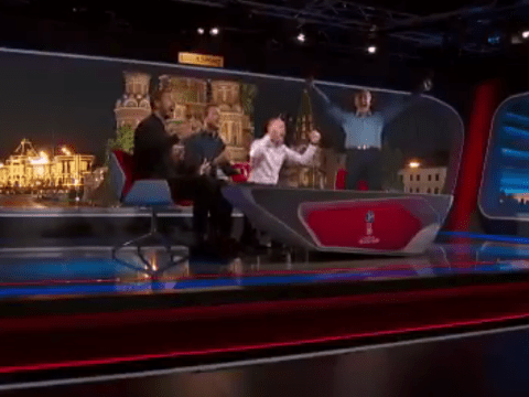 Gary Lineker's priceless reaction in studio as Harry Kane bags England winner vs Tunisia