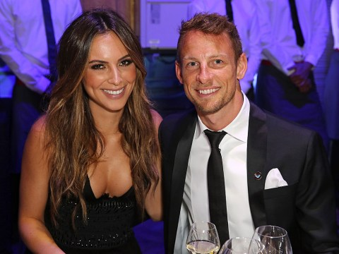 F1 champ Jenson Button engaged to former Playboy model Brittny Ward