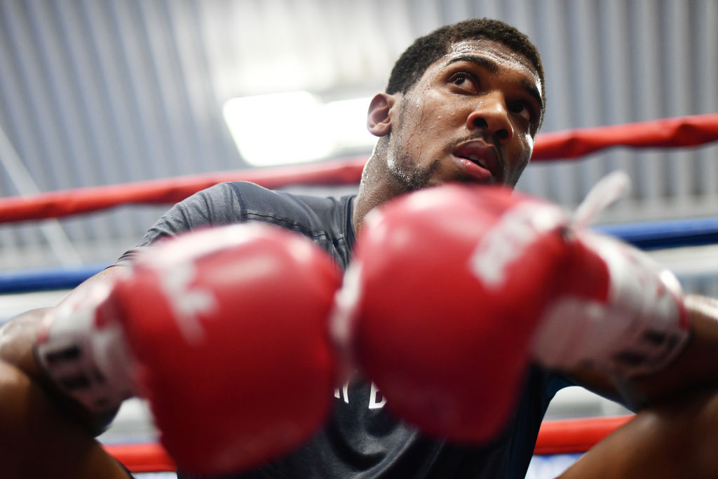 Anthony Joshua's next fight confirmed: AJ to face Alexander Povetkin at Wembley