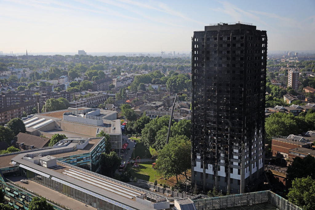 What will happen to Grenfell Tower after the anniversary of the fire?