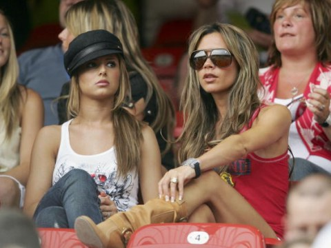 A fond reminder of Cheryl and Victoria Beckham in the 2006 World Cup WAG zone
